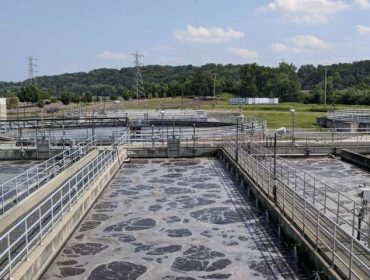 Treatment of municipal wastewater by a magnetic activated sludge device